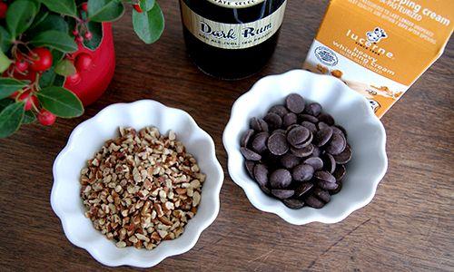 bourbon pecan truffles | Truffles | Pinterest