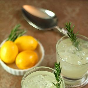 ... Ophelia Cocktail – Gin, Rosemary Simple Syrup and Fresh Lemon