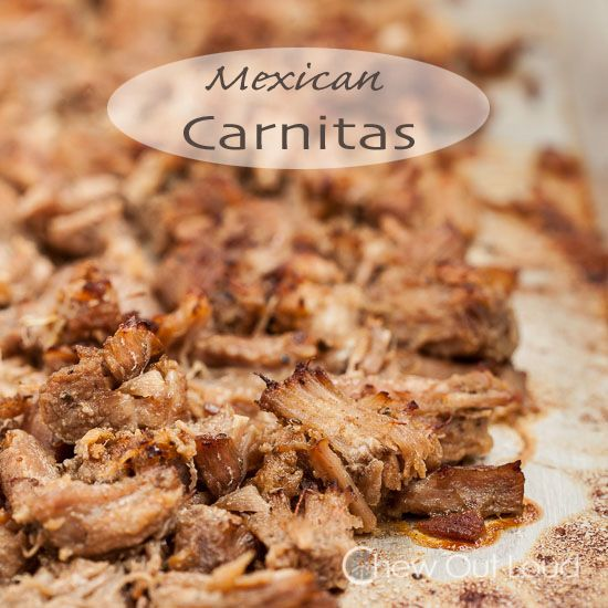 Mexican Pulled Pork (Carnitas) | Recipe