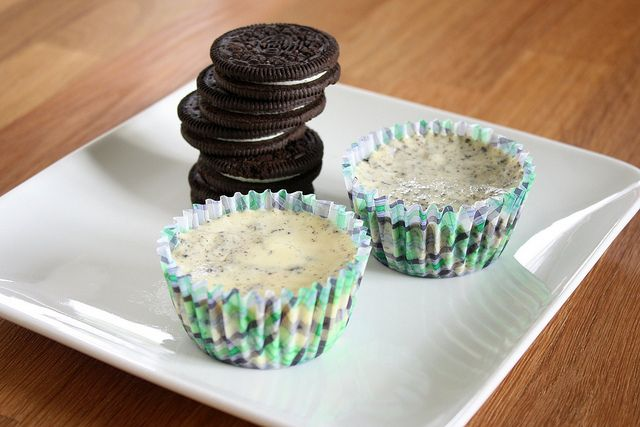Cookies & Cream Cheesecakes by Tracey's Culinary Adventures, via ...