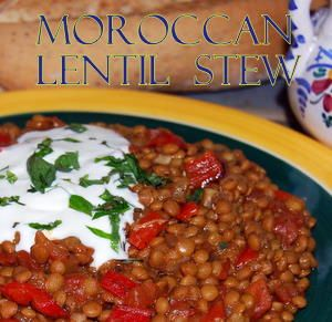 Moroccan Lentil Stew | Favorite Recipes | Pinterest
