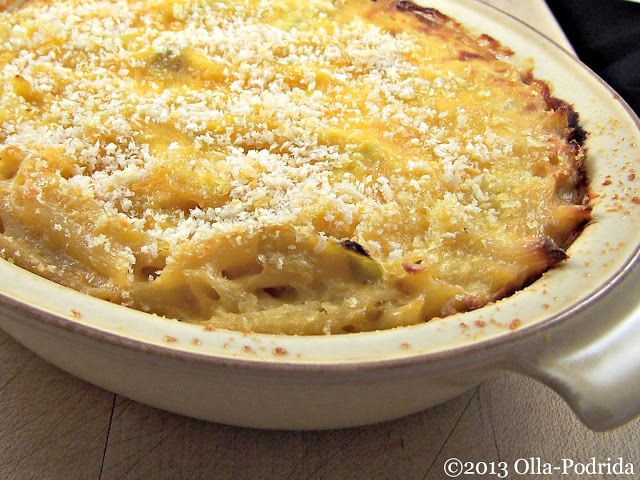 Baked Penne with Farmhouse Cheddar and Leeks. *I used 2 cups heavy ...