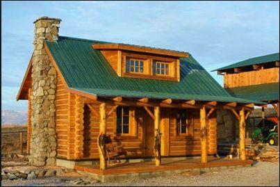 Log Kit Easy Living Log Cabin Ideas Pinterest