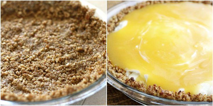 Lemon Meringue Ice Cream Pie with Toasted Pecan Crust via ...