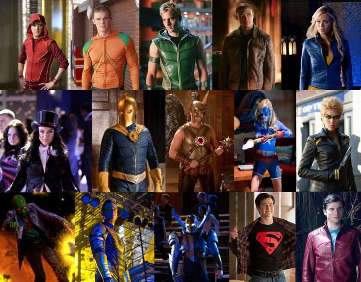Smallville Justice League | Cinema & TV | Pinterest