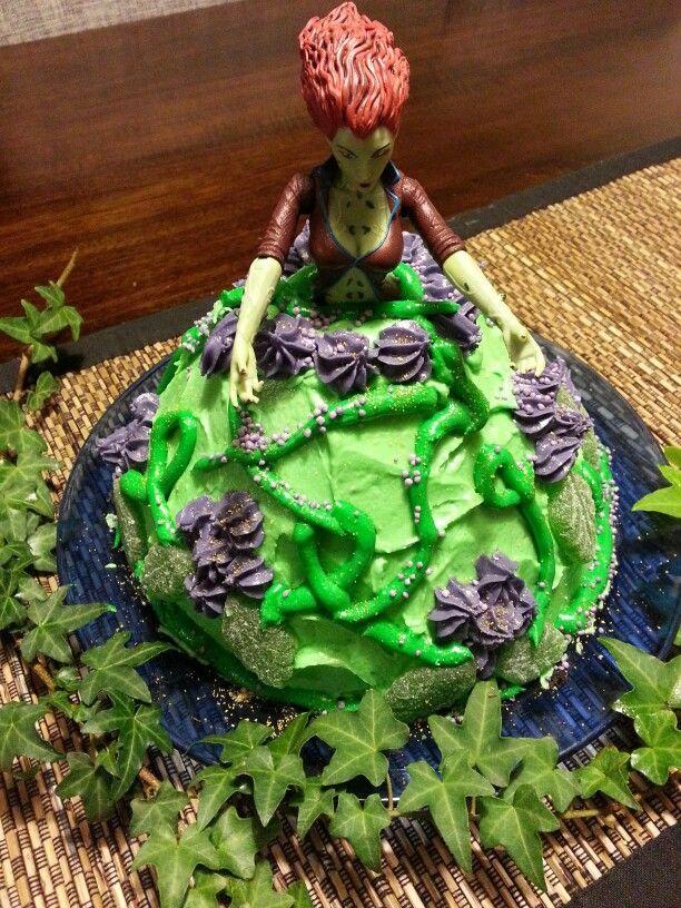 Poison Ivy Birthday Cake