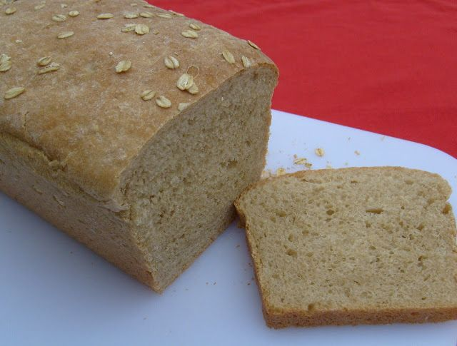 Light Oat Bread | Food | Bread & Jam | Pinterest