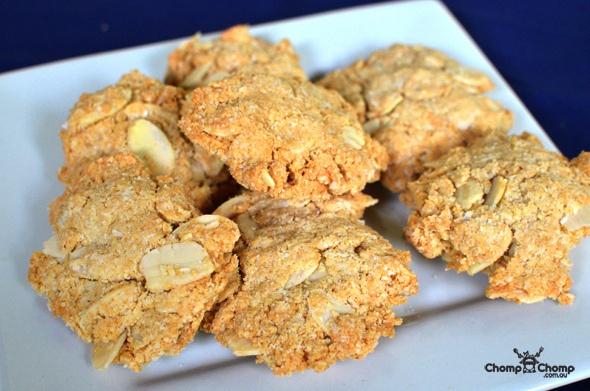 Paleo coconut flour Anzac biscuits | PALEO BURN | Pinterest