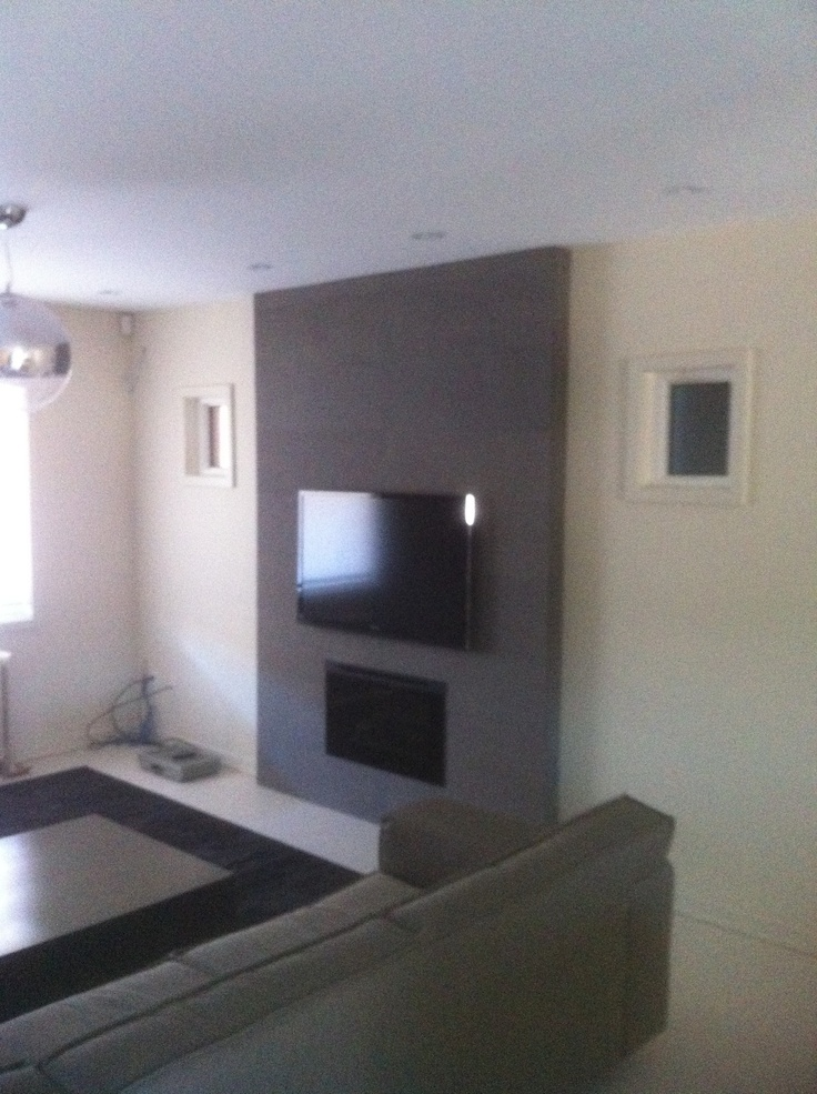 Tv Feature Wall Plans For The House Pinterest