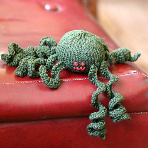 Spider Knitting Pattern : Spider Knitting Pinterest
