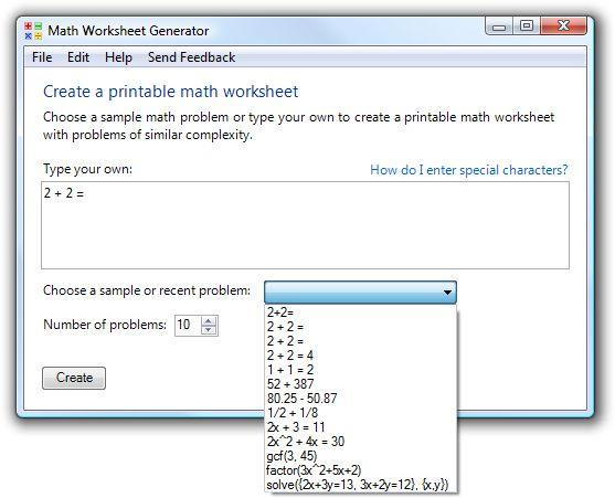 Free Online Math Worksheet Generator Karibunicollies – Create Math Worksheets