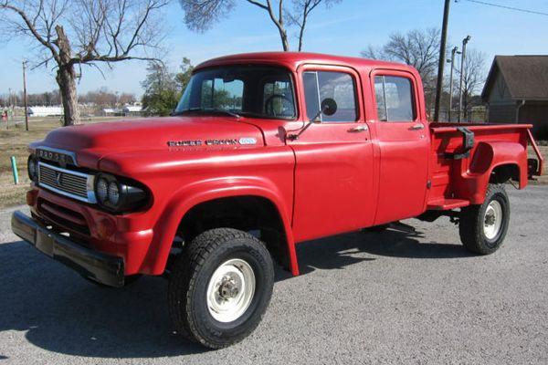 Dodge W200 Crew Cab For Sale >> 1960 Dodge Crew Cab 4x4 For Sale | Autos Post