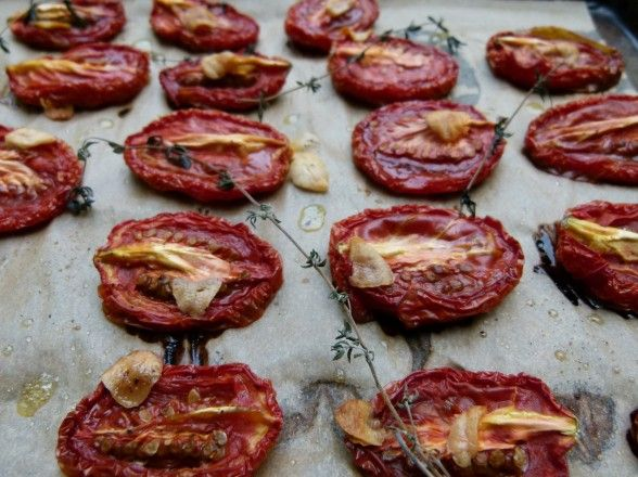 How to Make Slow Roasted Tomatoes | Bite Me | Pinterest