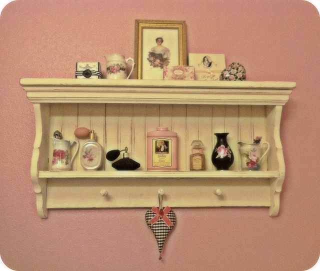 Vintage Bathroom Shelf 89