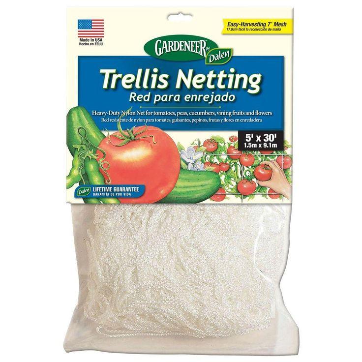 landscaping supplies 5 ft x 30 ft dalen products nylon trellis net
