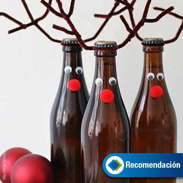 Botellas Cerveza Decoradas