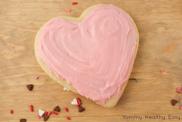... . Healthy. Easy.: The Softest Sugar Cookies & Buttercream Frosting