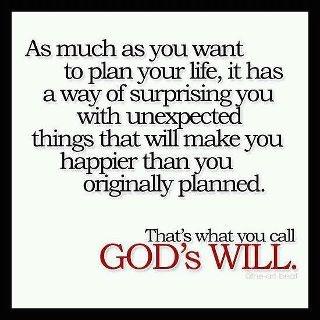God's Will.