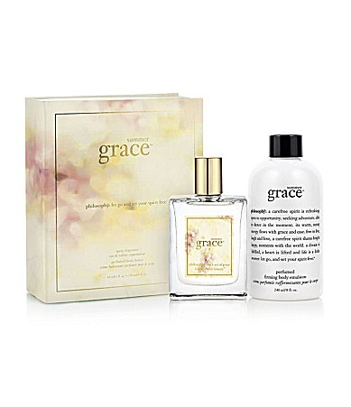 philosophy summer grace gift set.  My B~Day gift from my Mom, love it!