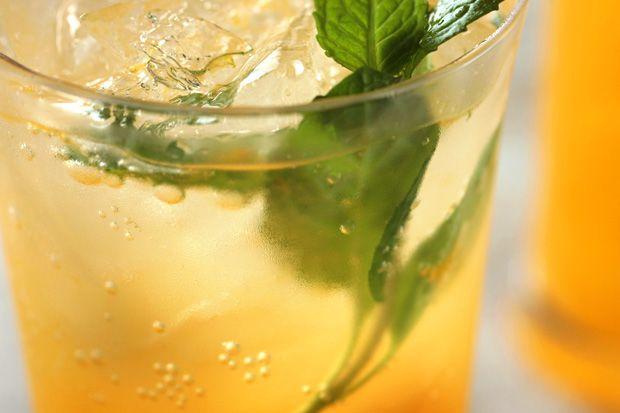 Cochon's Satsuma Mojito • 2 ounces 10 Cane rum •2 mint sprigs ...
