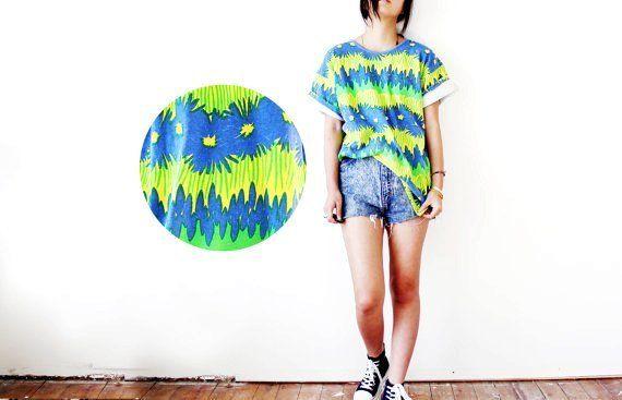 Crazy Tie Dye Pattern T Shirt Tie Dye Pinterest