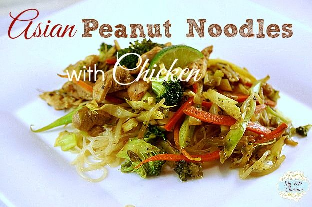 My 1929 Charmer | Asian Peanut Noodles with Chicken | http ...