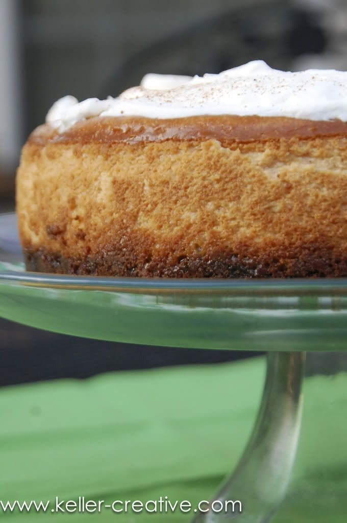 Eggnog Cheesecake | FOOOOOOOOOOD | Pinterest