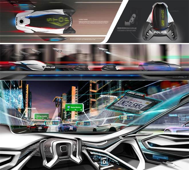 Future Police Cars 2025