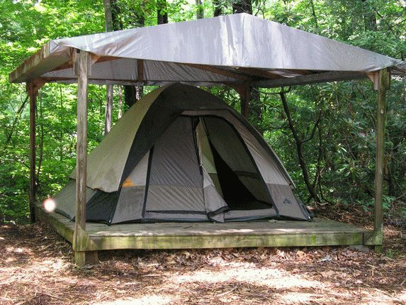 tent platform 5 house guest add room pinterest