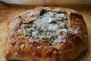 my fair baking.: Kale and Ricotta Galette.