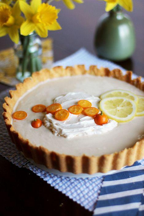 Lemon Yogurt icebox tart | Mangia e Bevi | Pinterest