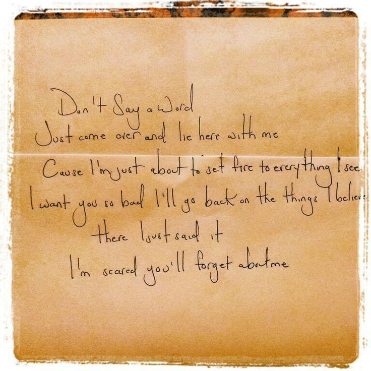 John Mayer Lyrics Edge of Desire