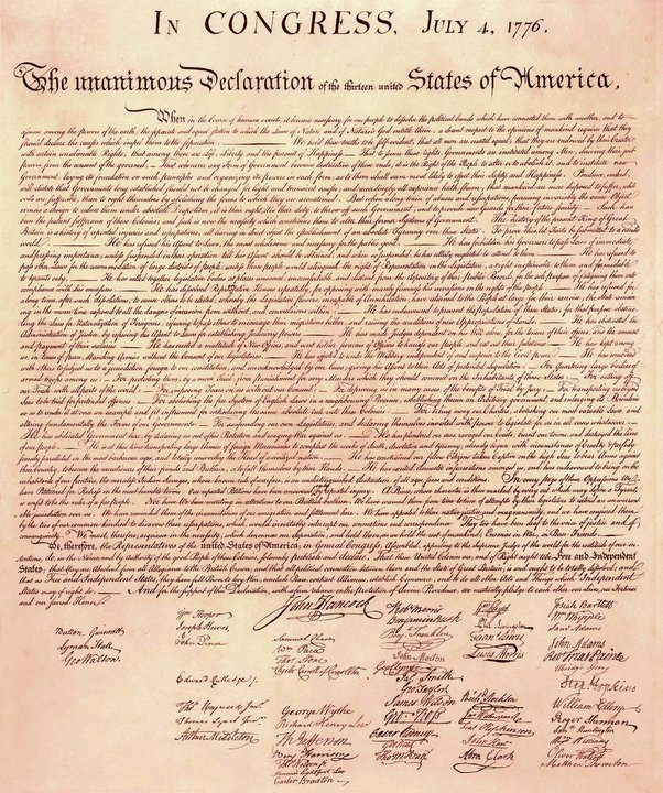 declaration of independence kid