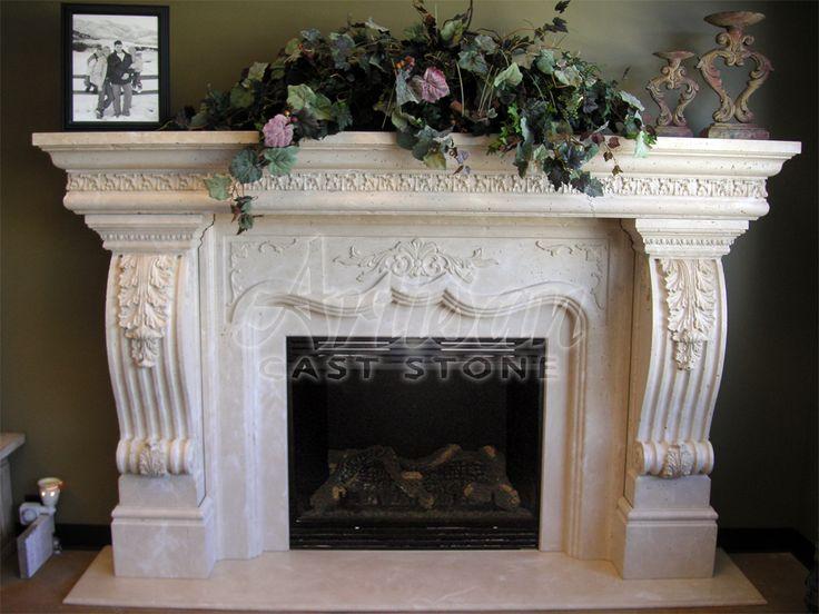 Tuscan Fireplace Mantel Tuscan Look Pinterest