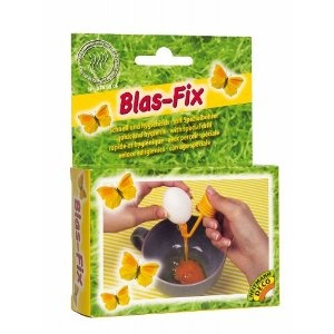 Perhaps next Easter I need a specialized egg blowing device. My technique this year was a fail...