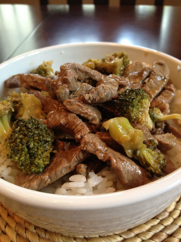 Chinese Beef and Broccoli | cook it (savory) | Pinterest