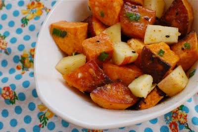 Apple and Sweet Potato Salad | Foodierachel Recipes | Pinterest