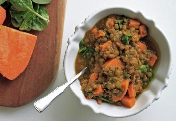 lentil sweet potato stew | Lentils | Pinterest