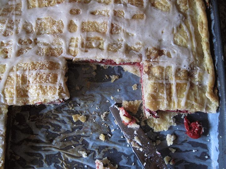 Sour Cherry Slab Pie | High Altitude Baking | Pinterest