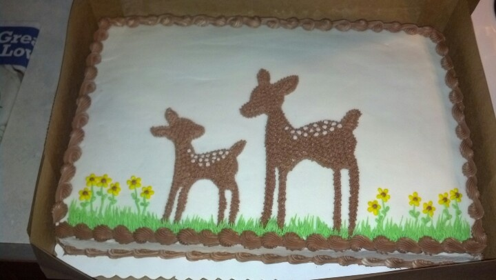 pin willow deer baby shower cake on pinterest