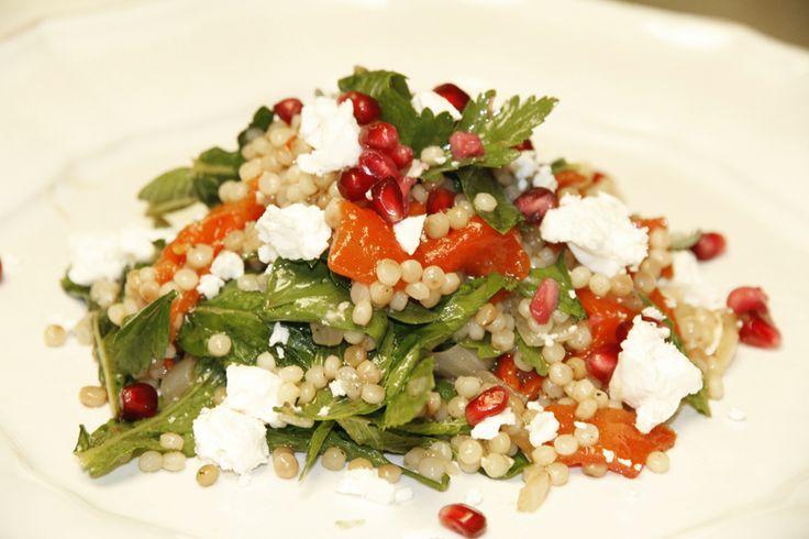 pearl couscous salad   New food ideas   Pinterest