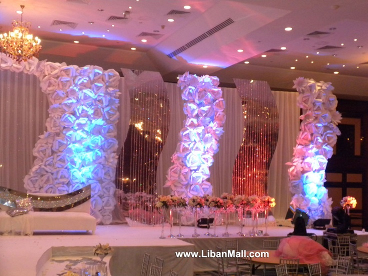 Found my backdrop weddings in for Arabic stage decoration