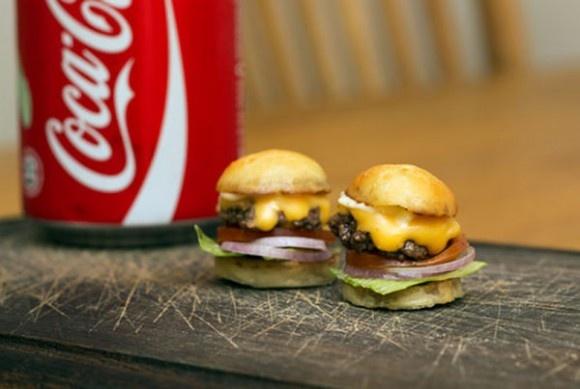 cutest hamburger ever. | Creative Food | Pinterest