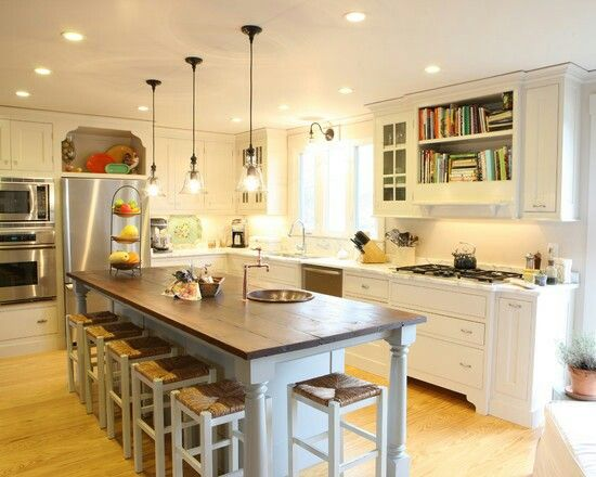 Kitchen Remodel With Eat In Island Kitchen Remodel