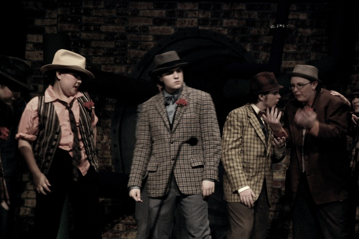 "Guys and Dolls"" crapshooters 