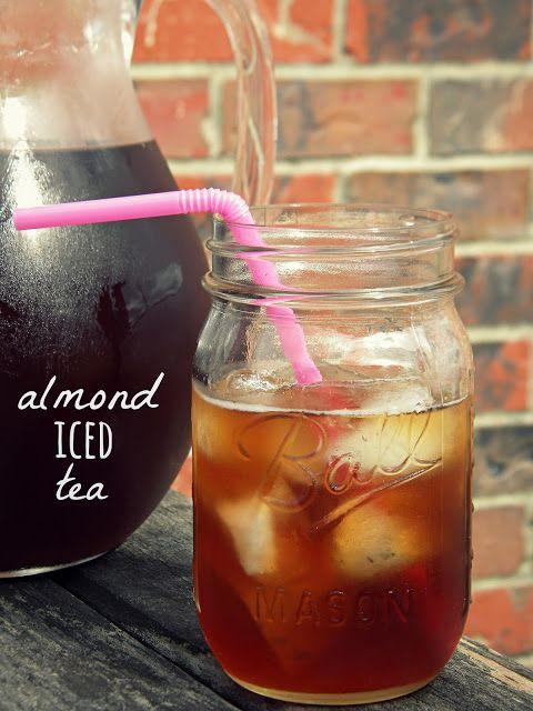 Southern Almond Iced Tea Recipe #recipe | Food escapades-Drink | Pint ...