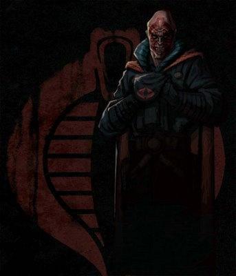 Cobra commander unmasked - photo#1