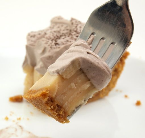 Peanut Butter Cream Pie with Chocolate Whipped Cream by ...