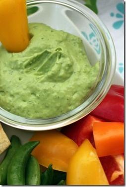 Creamy Avocado and Yogurt Dip | Recipes | Pinterest