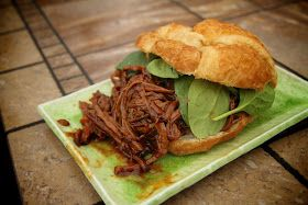 ... Sprinkled With Glitter: Root Beer Barbecue Beef Sandwiches- Crockpot